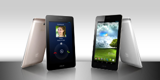 The powerful ASUS* Fonepad™ with Intel Inside®