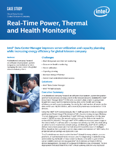 Real-Time Power, Thermal and Health Monitoring