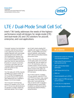 LTE/Dual-Mode Transcede* T3K SoC Product Brief