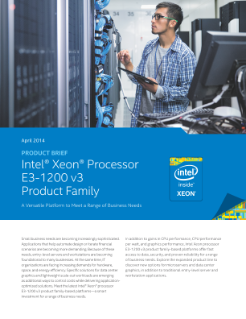 Intel® Processor Family is Ideal for Business Versatility