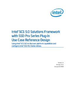 Intel® Setup and Configuration Software Use Case Reference Design