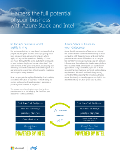 Intel and Azure Stack* Solution Brief