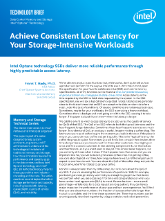 Achieve Predictable Low Latency